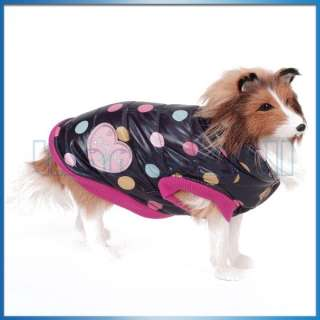 dog jacket is a vest style puff jacket which is perfect for chilly