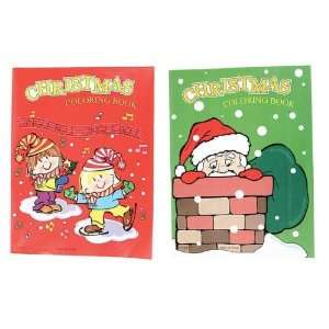 12 Page 9X 11 Christmas Coloring Book Case Pack 84
