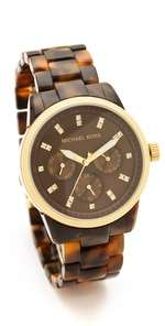 michael kors tortoise sport watch $ 225 00 14733