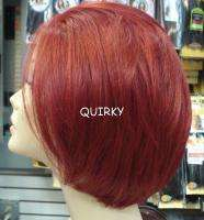 SYNTHETIC FRONT LACE WIG SHORT BOB CUT MANY COLORS INCLUDING RED U
