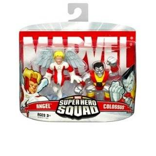 Marvel Super Hero Squad Hawkeye & Captain America Toys