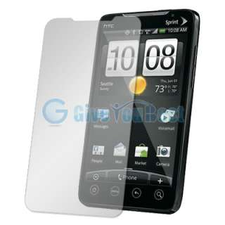12 Accessory bundle Battery+Case+Charger For HTC EVO 4G