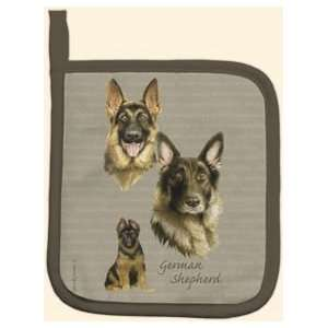 German Shepherd Dog Kitchen Potholder