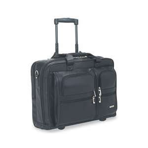 SOLO® USL D9574 ROLLING LEATHER LAPTOP CASE FOR UP TO 15