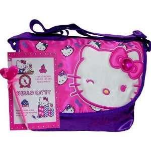 New Hello Kitty Purple Messenger Bag