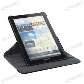 360 Rotating Leather Case Cover Stand For Samsung Galaxy Tab 7.7 P6800