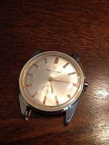 VTG Jean Cardot 17 Jewels Mens wrist watch Diver/Scuba Tropicalized