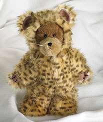 Boyds Lita The Cheetah Bear In Disguise 10 CUTE NWT