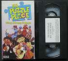 the puzzle place sing along songs vhs video children movie