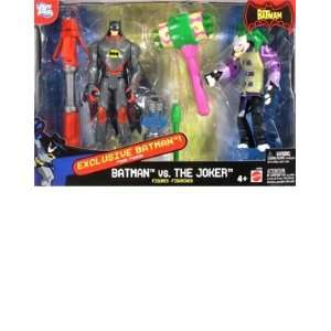 Batman vs. Joker Action Figure Set Toys & Games