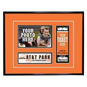 San Francisco Giants First Game Ticket Frame  Sports