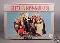 Vintage 83 Star Wars ROTJ Puzzle Yak Face & Aliens MIB