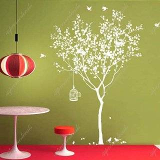 Made in US   Free Custom Color   Spring Tree with bridcage removable