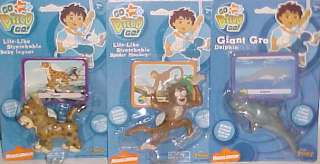 NEW DIEGO TOY LOT EASTER EGG HUNT RESCUE ANIMALS PLAYSET