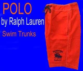 85 Mens POLO RALPH LAUREN Swim Suit SURF Trunks 34