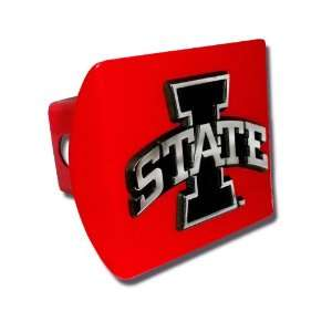 with Chrome Plated I STATE Emblem NCAA College Sports Metal Trailer