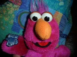 rare 12 TELLY MONSTER Plush Jim Henson Sesame Street MUPPETS w