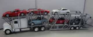CARRIER DIECAST 132 MODEL TRUCK WITH SIX CARS SET COMBO NEW
