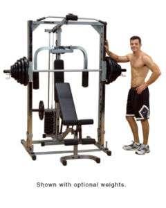 NEW Body Solid Powerline PSM1442XS Smith Machine Home Gym System w