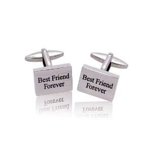 Marriage related items Cufflinks, NCK3518 Best Friend Forever Jewelry
