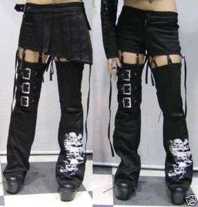 Lolita Kera VISUAL KEI PUNK GOTHIC Pants skirt trousers SIZE S XXL