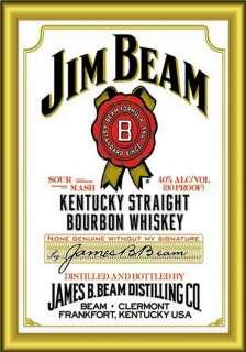 MAGNET Beverage JIM BEAM White Label Bourbon Whiskey PHOTO MAGNET Free