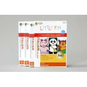 Little Pim Italian 3 Pak (Vol. II) Little Pim the panda