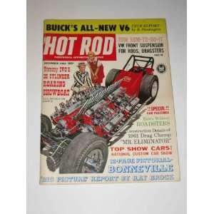 Hot Rod Magazine December 1961 Buicks All New V6
