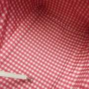 CHANEL Vinyl LIPSTICK Tote Bag Purse Hot Pink 11C