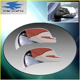 02 09 GMC Envoy Chevy Trailblazer Chrome Mirror Covers