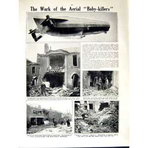 1914 15 WORLD WAR FRENCH MACHINE GUN ZEPPELIN SMITH Home