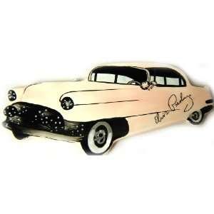 Elvis Presley Dish Pink Car