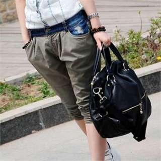 Fashion Womens Genuine Leather Shoulder Bag Handbag Removable Strap