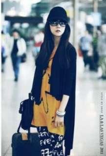 Korean Fashion Womens Outerwear Cotton Loose Long Tops Shirt XS M/2 8