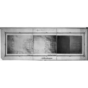 The first floor plan of the Imperial Military Academy
