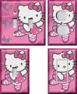 Hello Kitty #2 Light Switch Plate