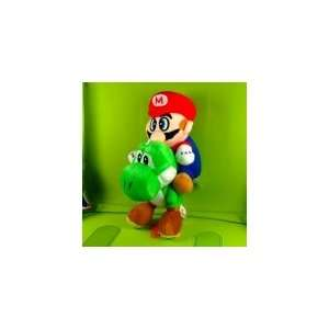Super Mario Brothers Yoshi+Mario Plush Doll Figure Toy Toys & Games