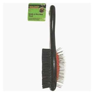 Pet Grooming Brush, MED PIN & BRISLE BRUSH