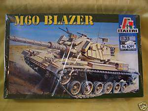 ITALERI M60 BLAZER MODEL KIT 135 SCALE *NEW* 8001283863919