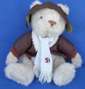 Bialosky Bears Pilot Charlie Stuffed Plush Teddy Bear
