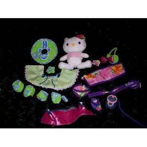 Hello Kitty Plush Doll 9 Tall, with Dress up Clothes Toy