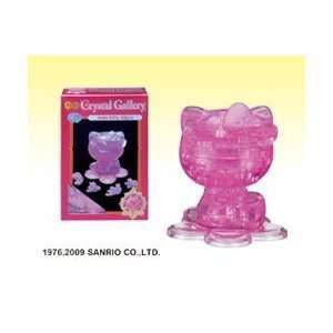 CRYSTAL PUZZLE Hello Kitty Toys & Games