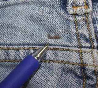 XXI sz 5 / 6 x 31 Stretch Womens Juniors Blue Jeans Denim Pants FM72