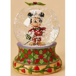 Disney Traditions *Merry Christmas* Holiday Mickey 65mm Waterball