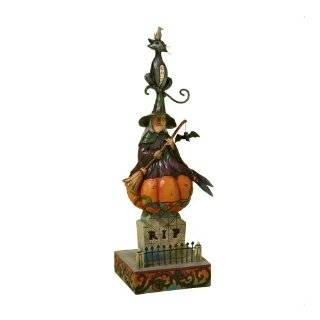 Jim Shore Heartwood Creek from Enesco Stacked Halloween Scene Figurine