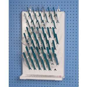 Drying Rack, Wall mount, single sided 3 tier  Industrial