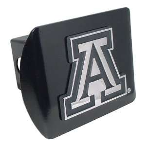 University of Arizona Wildcats Black with Chrome A Emblem NCAA