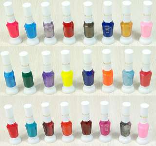48 Colors 2 Way False Nail Art Brush Varnish Polish Brushs Pen Makeup