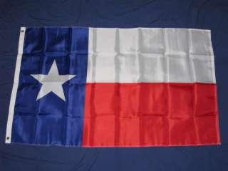 3X5 NYLON TEXAS FLAG TEXAN LONE STAR STATE NEW F734