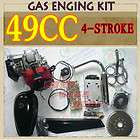 49CC 4 Stroke Bicycle Engine Kit GAS Motor Motorized E Bike power kit